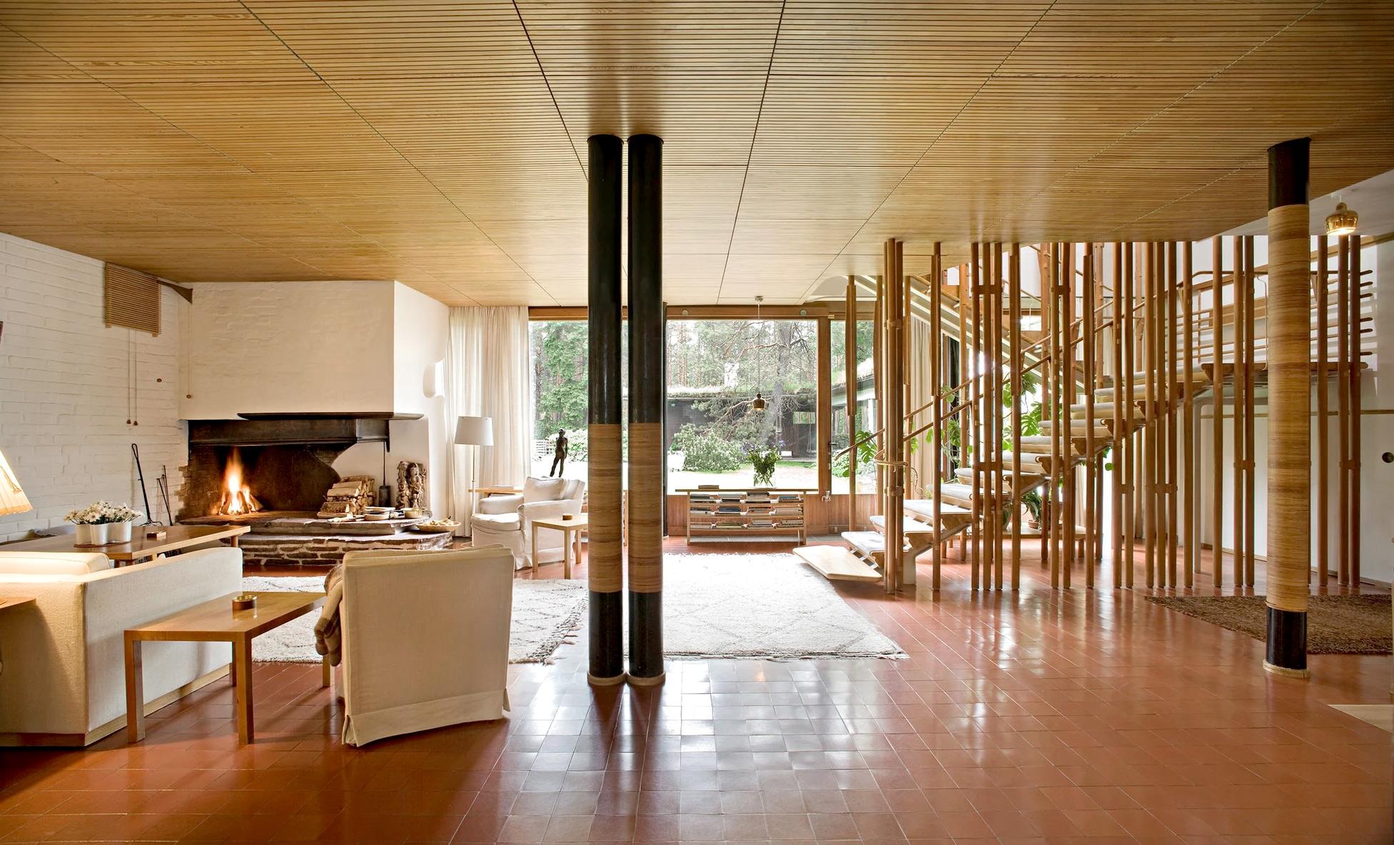 Villa Mairea Alvar Aalto Studio 120 Architetture E Design Piacenza